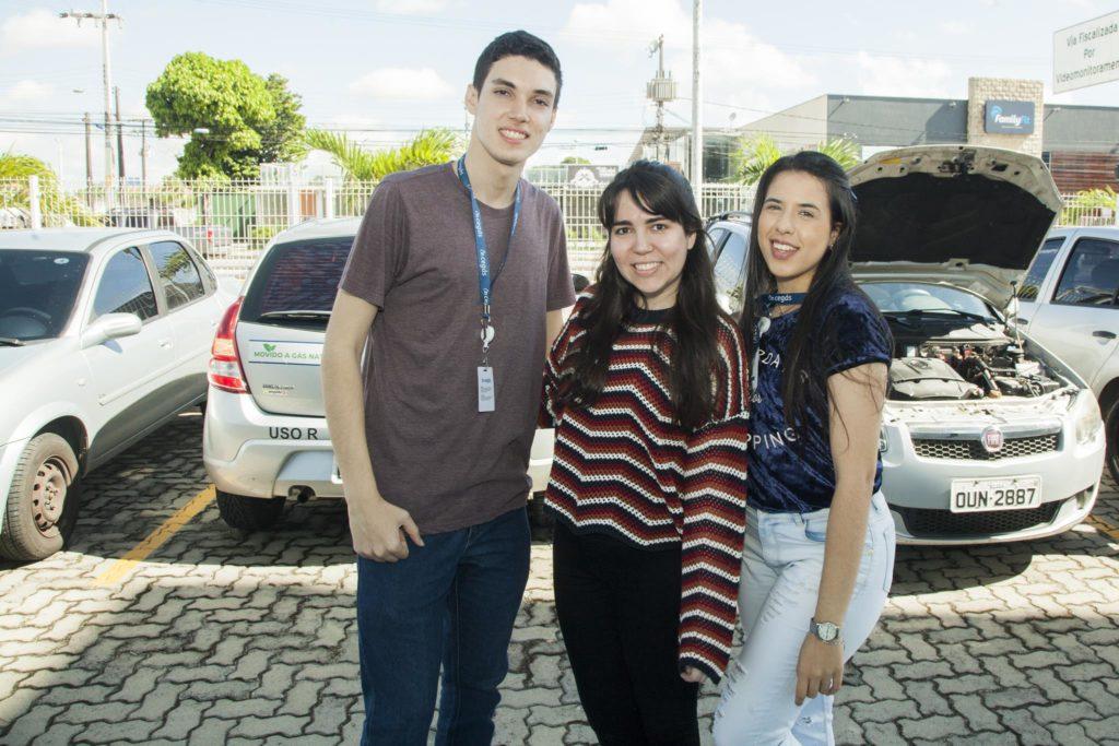 Jorge Alexandre, Eloa Macedo E Karine Rocha