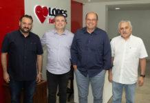 Patriolino Dias, Ricardo Bezerra, Luciano Salgado E Emanuel Capistrano