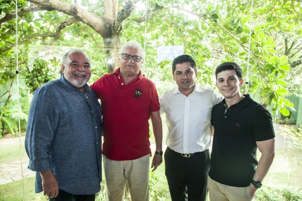 Pedro Negrao, José Cordeiro, Pompeu Vasconcelos E Pedro Paulo Negrao (2)
