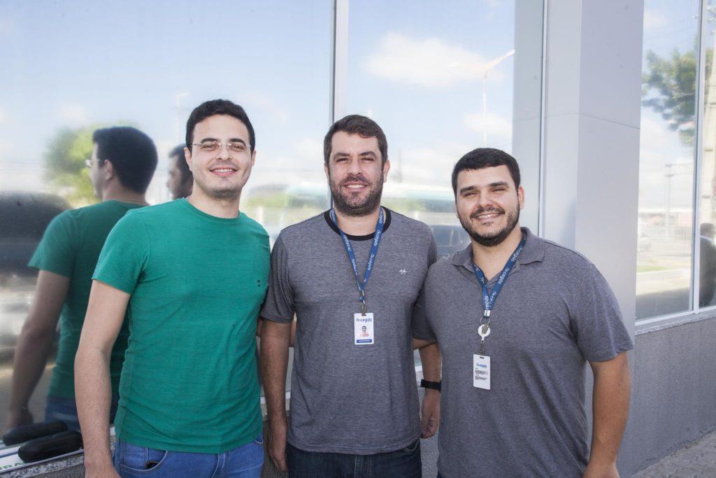 Rafael Vasconcelos, Alexandre Nunes E Marcos Machado