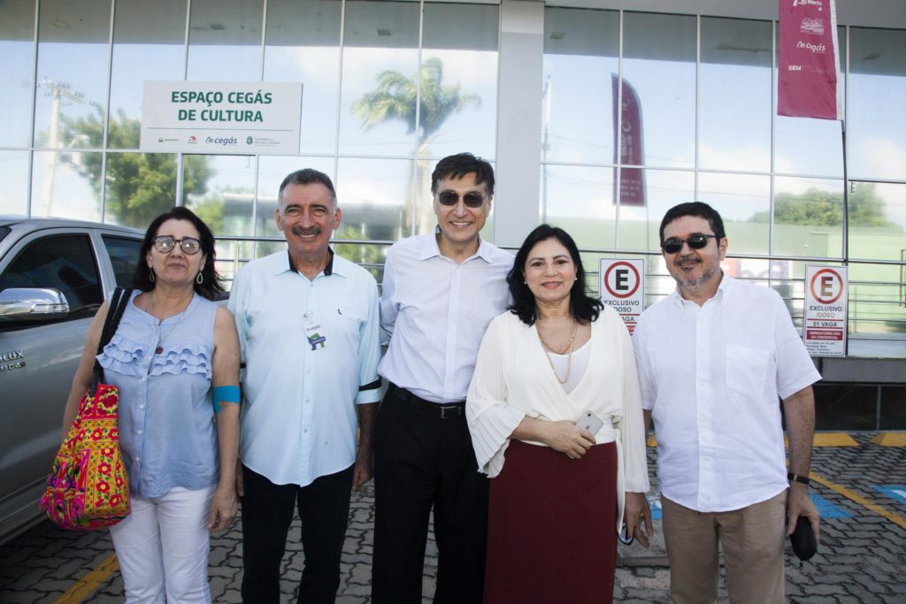Tarcilia Rego, Artur Buno, Hugo Figueiredo, Ciça Maia E Paulo Mota