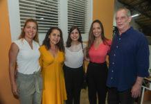 Ticiana Rolim, Dora Andrade, Tabata Amaral, Giselle Bezerra E Ciro Ferreira Gomes