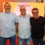 Augusto Caminha, Ronaldo Pessoa E Flavio Paiva