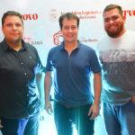 Jose Araujo, Julio Brizzi E Wendel Saraiva