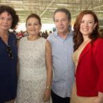 Lenise Queiroz Rocha, Valéria Serpa, Paula Queiroz Frota E Cláudio Rocha