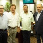 Luiz Eduardo Morais, Elias Carlos, Bill Farias E Honório Pinheiro
