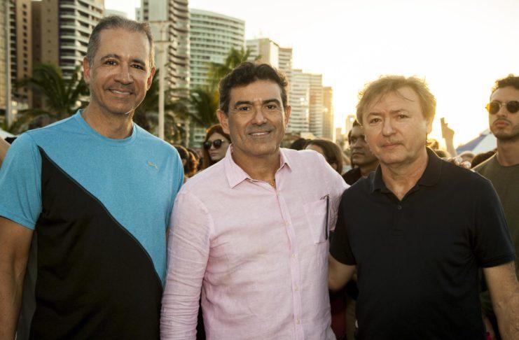 Regis Medeiros E Alexandre Pereira E Mauricio Filizola