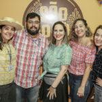 Rosali Diogo, Tadeu Leandro, Alexandra Nuvens, Barbara Redes E Carol Alencar