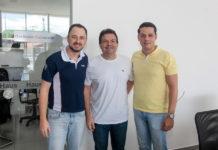 Wander Aquino, Fernando Ferrer E Saulo Parente
