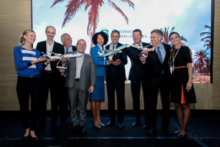 Hub da AirFrance-KLM/Gol é lançado oficialmente em Fortaleza