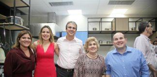 Gisela Dias Branco, Onelia Santana, Camilo Santana, Consuelo Dias Branco E Roberto Claudio