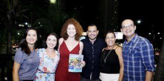 Gisele Leal, Maab Salgado, Grazi Costa, Felipe Oliveira, Cida Parente E Anchietta Junior