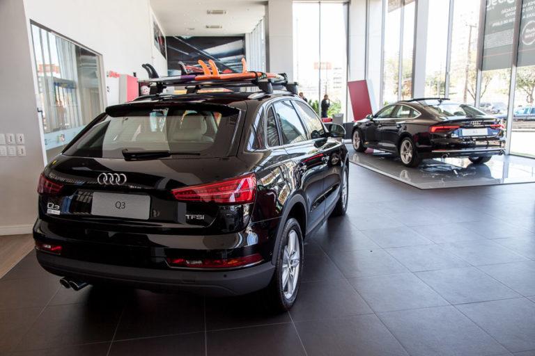 Clima de férias toma conta da Audi Center Fortaleza neste sábado