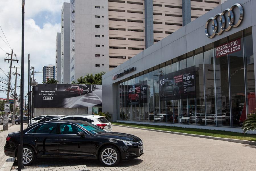 Palácio de Queiroz compra as lojas Audi Center de Fortaleza e de São Luís