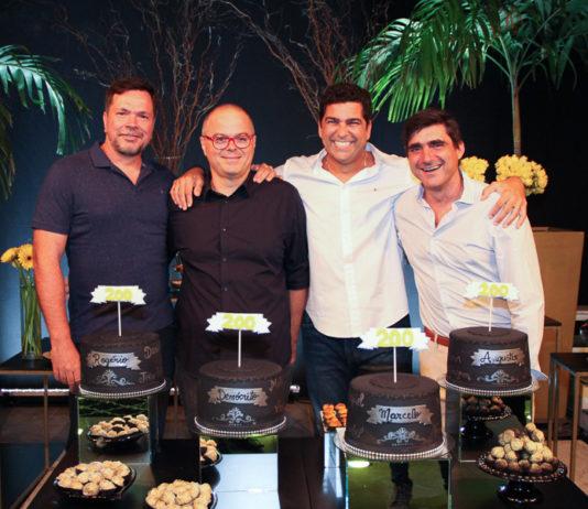Rogério Bochi, Demócrito Dummar, Marcelo Cavigne E Augustin Herrero (2) 2