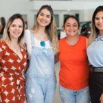 Aline Teixeira, Kelly Feitosa, Emeline Feitosa E Virginia Almeida