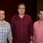 Novack Neto, Thiago Façanha E Daniel Victor (2)