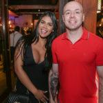 Amanda Carvalho e Rodolfo Fernandes 150x150 - Noite de sexta-feira no Moleskine é sempre motivo para celebrar