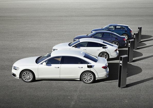 Quatro carros da Audi ganham versões híbridas