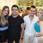Camila Roset, Luiz Marcelo, Gabriel E Bianca Marangone