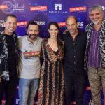 Edmilson Filho, Halder Gomes, Miriam Freeland, Roberto Bomtempo E Falcão