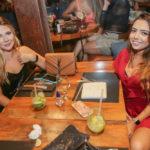 Mirla Leal e Julia Trindade 150x150 - Noite de sexta-feira no Moleskine é sempre motivo para celebrar