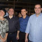 Valéria Café, Marcelo Castro, Max Bezerra E Delano Macêdo (1)