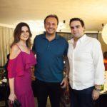 Viviane, Adriano Nogueira E Victor Baima