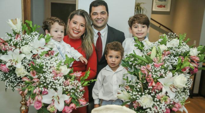 Davi, Camila Ximenes, Jacob Mendes, Pedro E Joao Vitor Ximenes