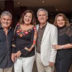 Dorian Sampaio, Denise Sampaio, Clóvis Bezerra E Nacy Braga