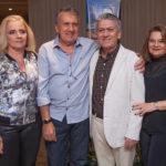 Elizabeth, Luciano, Clovis E Nacy Braga