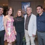 Marcelo, Raquel, Nacy, Clovis Bezerra E Clovis Braga