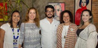 Natália Martins, Ticiana Rolim, Rafael Fujita, Liana Feingold E Priscila Veras (2)