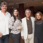 Paulo Dias, Isabella Dias, Clóvis Bezerra E Nacy Braga