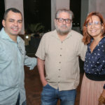 Adriano Loreiro, Paulo Linhares E Flavia Castelo