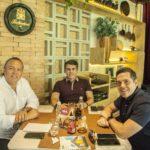 Claudio Leal, Silveber De Castro E Francisco Rosino (1)