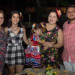 Ilana Marcio, Isa Castro, Júlia Marques, Fabia Aguiar E Wescley Marques