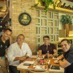 Julio Caviar, Claudio Leal, Silveber De Castro E Francisco Rosino (4)
