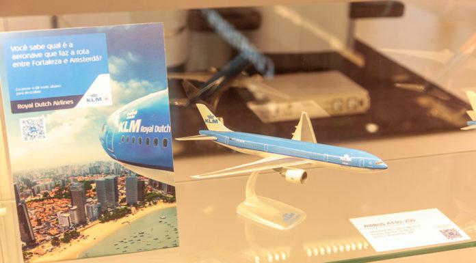 Pop Up Store KLM No Rio Mar 2