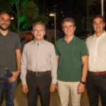 Tiago Parente Otacílio Valente Ronaldo Barbosa e Daniel Arruda 2 150x150 - Colmeia entrega o novo empreendimento La Reserve
