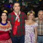 Valéria Costa Lima, Hugo Granjeiro, Ana Cristina E Airton Montenegro