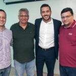 Bernardo Prado, Zezinho Jereissati, Valdemir Alves E Zinho Jereissati