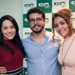 Carol Vasconcelos, Rafael Fujita E Evelane Barros