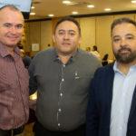 Fred Colares Paulo Alcântara e Paulo Siqueira 150x150 - Café com Energia debate redução de custos por meio da gestão energética
