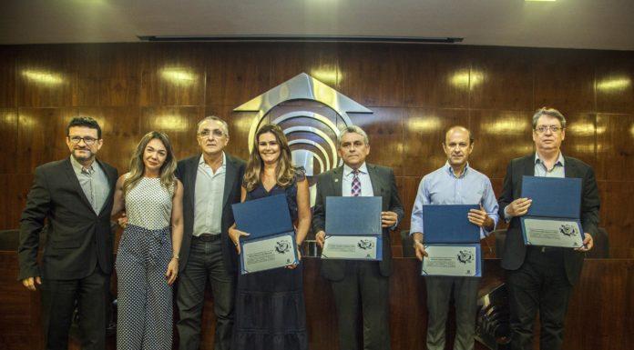 Henrique Sá, Daniele Coimbra, Chico Alberto, Ivana Bezerra, Jurandyr Gurgel, Marcos Holanda E Celio Fernando Bezerra (2)