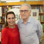 """Isabel Jucá e Jorge Furtado 150x150 - Isaac Furtado lança seu terceiro livro, """"Caderno 53"""""""
