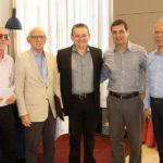 João Paulo Sousa, Gerson Fonteles, Roque Albuquerque, Luiz Miranda E Sérgio Melo