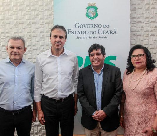 José Sarto, Camilo Santana, Carlos Roberto Martins E Maria Nailde Pinheiro Nogueira_