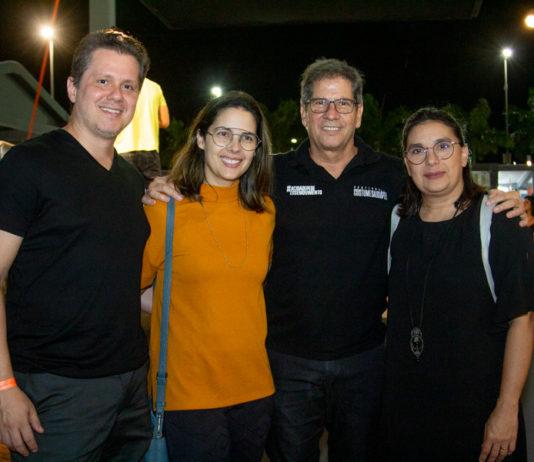 Lívio Parente, Joana, Severino E Isabela Ramalho