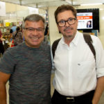 """Manuel Jucá e Mauro Gurgel 150x150 - Isaac Furtado lança seu terceiro livro, """"Caderno 53"""""""